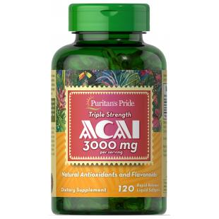 Triple Strength Acai 3000 mg - 120 Softgels