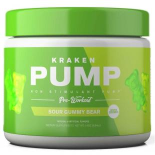Sparta Kraken Pump - 140g Sour Gummy Bear